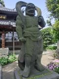 延命禅寺金剛力士 阿形(あぎょう)