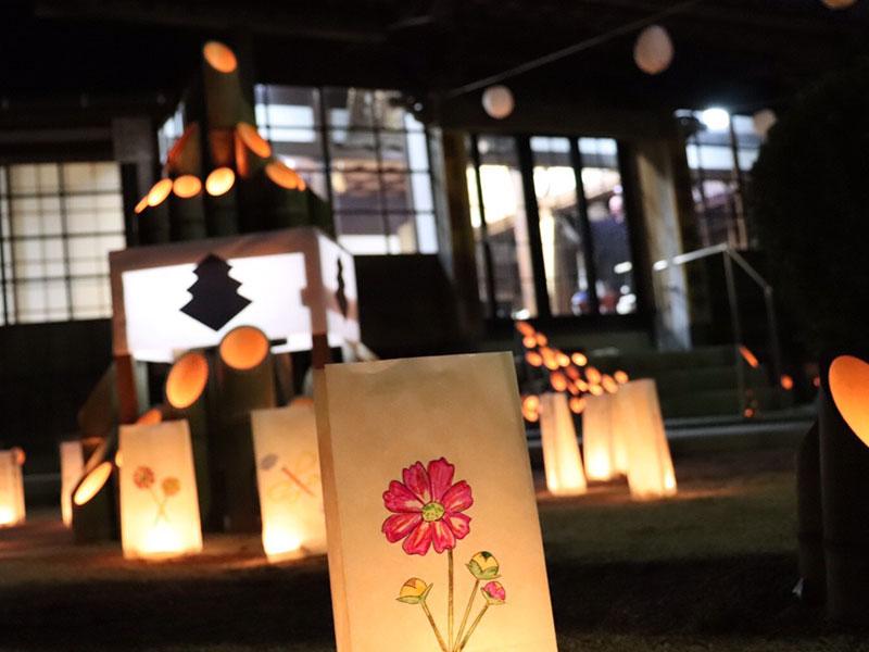 秋の灯籠祭り